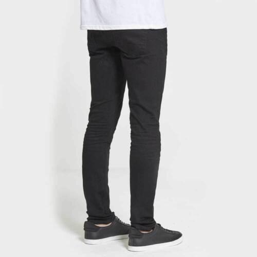 Dml Jeans Chaos Skinny Jeans Stretch en Vrai Noir Différentes Tailles