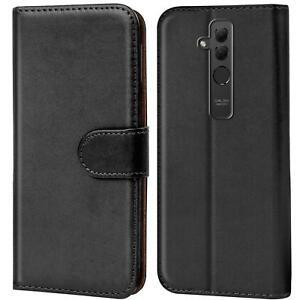 Handy-Huelle-Huawei-Mate-20-Lite-Cover-Schutz-Tasche-Slim-Flip-Case-Bookcase