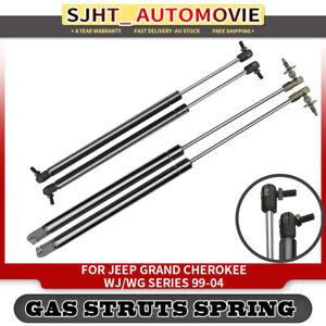 2X Rear Window Lift Gas Struts Supports For Jeep Grand Cherokee MKI WJ WG 99-04