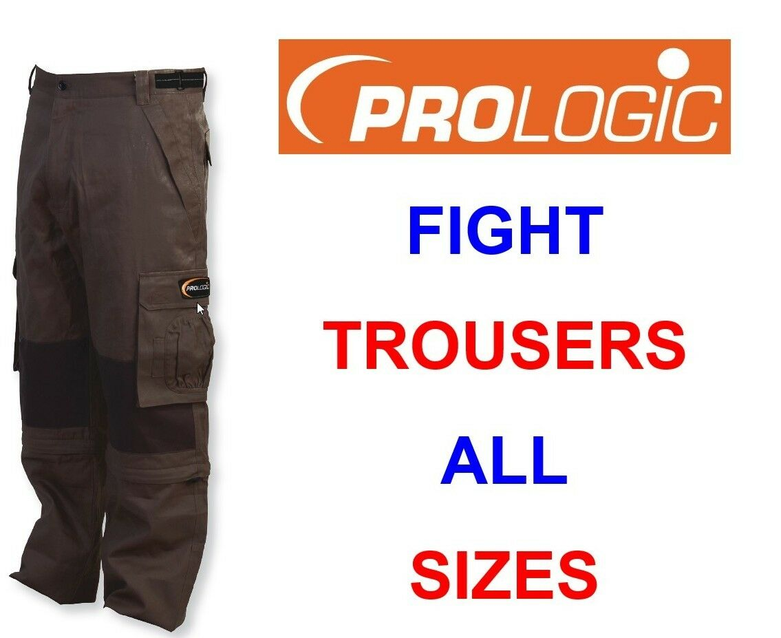 CLEARANCE PROLOGIC FIGHT COMBAT TROUSERS   SHORTS HUNTING SHOOTING CARP FISHING