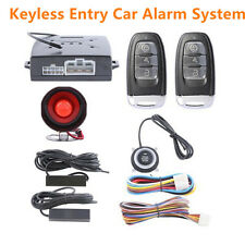 Passive Car Alarm System Keyless Entry Push Button Start Remote Engine Starter