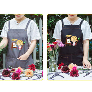 New-Apron-with-Pocket-for-Teenage-or-Small-Adult-School-Home-Kitchen-LA