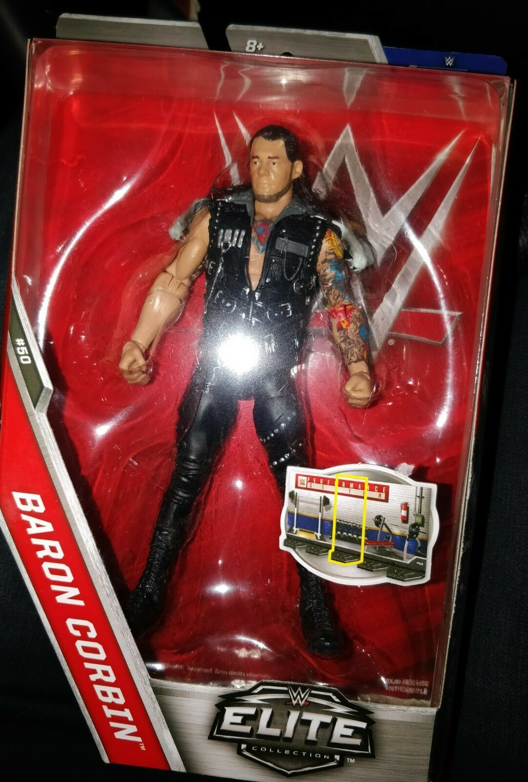 WWE ELITE SERIES 50 BARON CORBIN THE LONE WOLF RAW WWF WRESTLING FIGURE NEW SEAL