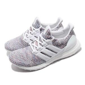 ab86af918da0e adidas UltraBOOST 4.0 White Multi-Color 2 Men Running Shoes Sneakers ...