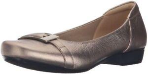 Zapatillas Blanche D West West cordones 4 6 Clarche de cuero metalizadas de 0xwUqr0BP
