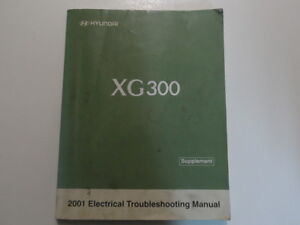 2001 hyundai xg300 electrical wiring diagram manual supplement Hyundai 350 image is loading 2001 hyundai xg300 electrical wiring diagram manual supplement