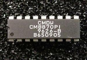 Qty-5-CM8870PI-CMOS-Integrated-DTMF-Receiver-18-Pin-DIP