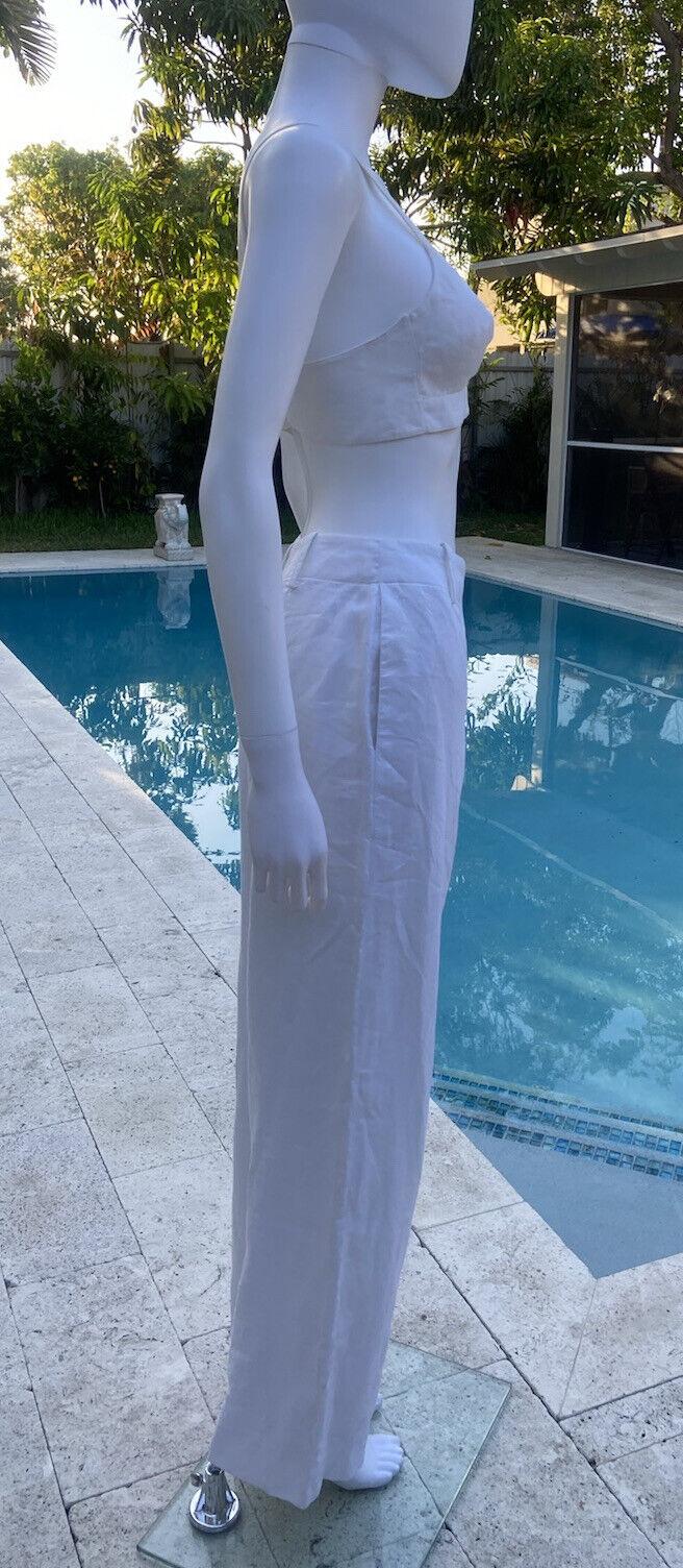 Vintage Hermes Linen Suit 36 - image 4