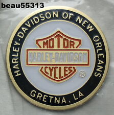 H-D OF NEW ORLEANS GRETNA LOUISIANA HARLEY DAVIDSON DEALER OIL DIP DOT