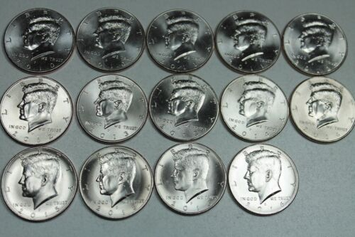 AMAZING COMPLETE BU KENNEDY HALF DOLLAR COLLECTION 1964-2019PD! FREE SHIPPING