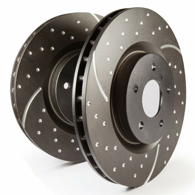 EBC Brake Discs Turbo Groove Front For Brz Forester Impreza Legacy GT86 GD729