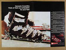 1970 Humanic COVERITE Ski Boots boot photo vintage print Ad