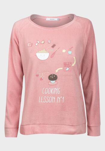 Polaire Douce Rose Lounge//Pyjama top Snug Coucher Nightwear #SlightSeconds