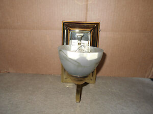 Rv 12 Volt Decorative Wall Mount Light 38450s Br Ebay