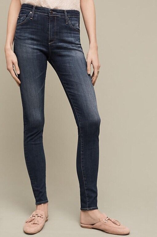NEW Adriano goldschmied The Farrah High Rise Skinny Jeans Size 26