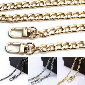 Image Is Loading Uk Flat Metal Replacement Chain For Shoulder Bag