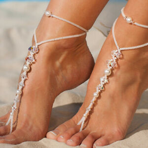 Pearl-Barefoot-Sandals-Anklet-Foot-Chain-Toe-Ring-Beach-Ankle-Bracelet-for-W-J7