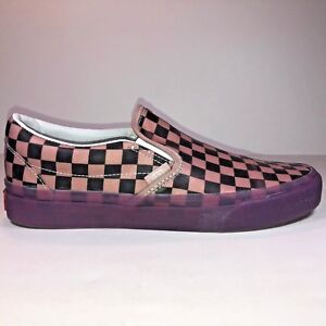 00bab50b39 Image is loading VANS-Classic-Slip-On-Translucent-Rubber-Porcini-Purple-