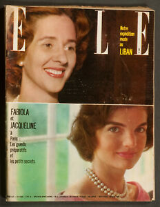 039-ELLE-039-FRENCH-VINTAGE-MAGAZINE-JACKIE-KENNEDY-HALF-COVER-26-MAY-1961