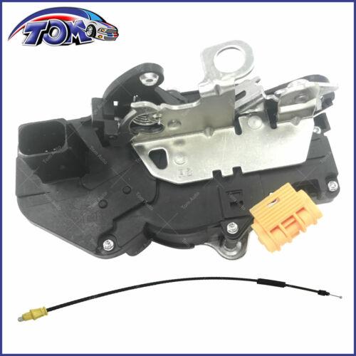 Door Lock Actuator Motor W// Door Latch Front Right For Cadillac Chevrolet GMC