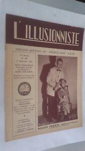 EL ILUSIONISTA Revista Dibujada N º 183 19è Annee 2E Cuarto 1953 ABE