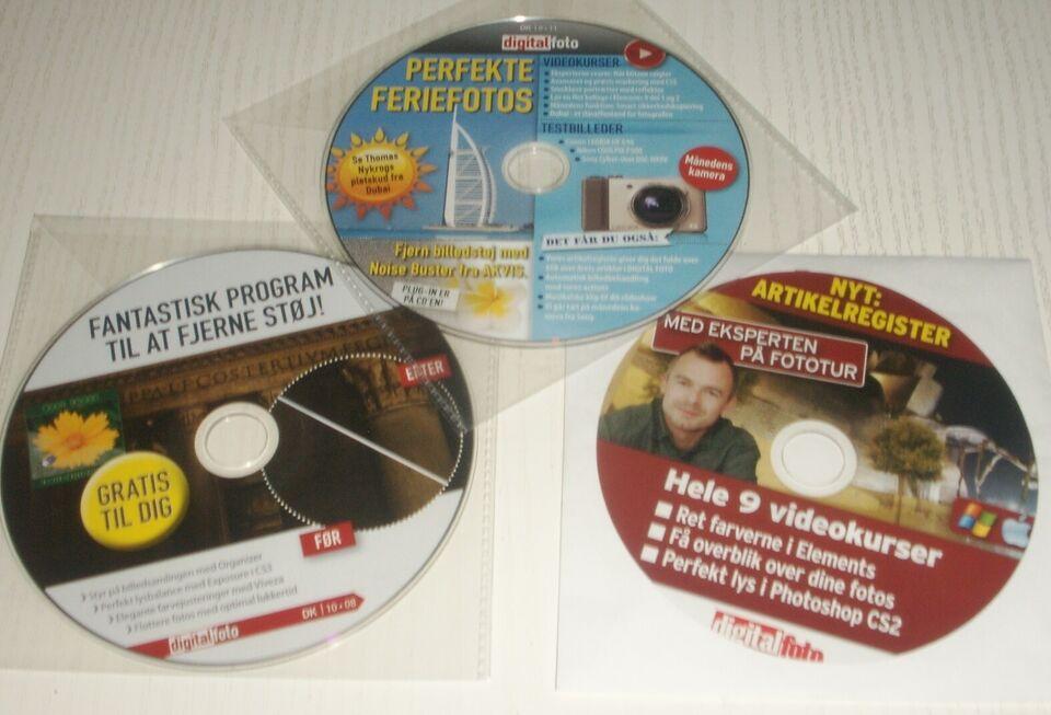 CD`er med Programmer/Spil, Div.
