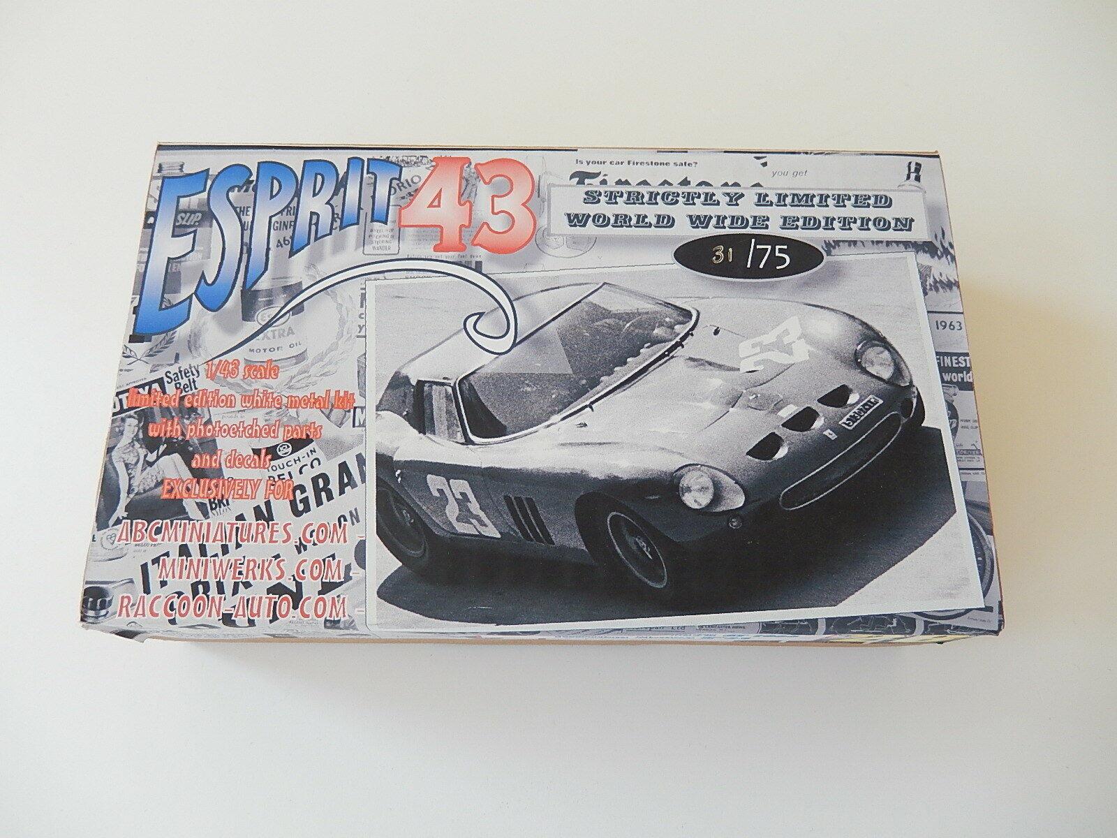 1 43 KIT METAL Ferrari 250 GTO 64 Targa florio 1966 special nose    amr  bbr