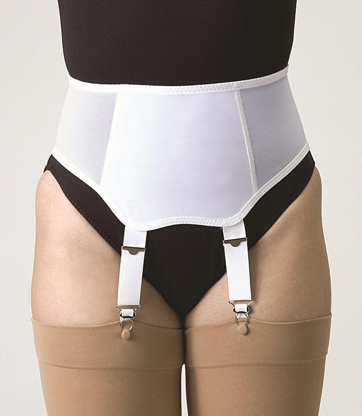 Garter Belt Adjustable Stockings Supports Compression Socks Waist Hold Up Holder