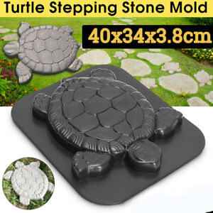 Turtle-Stepping-Stone-Mold-Concrete-Cement-Mould-Tortoise-Garden-Path-Anti-Slip