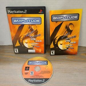 Playstation-2-PS2-Amplitude-Video-Game-Complete-CIB-Harmonix