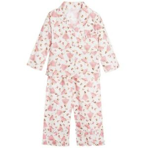 65ad129a5 GIRLS COTTON BALLERINA PYJAMAS FROM POWELL CRAFT PLUS MATCHING GIFT ...