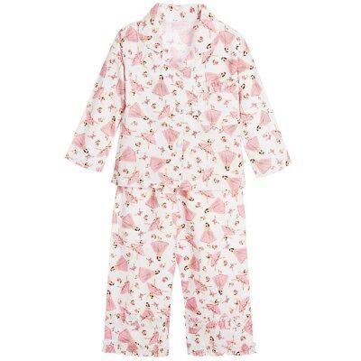 Matching Gift Box.Pink Powell Craft 100/% Cotton Ballerina Nightdress
