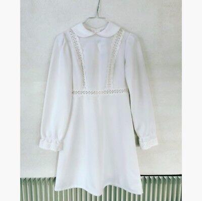 bfab071829d1 Find Vintage Kjole Hvid på DBA - køb og salg af nyt og brugt