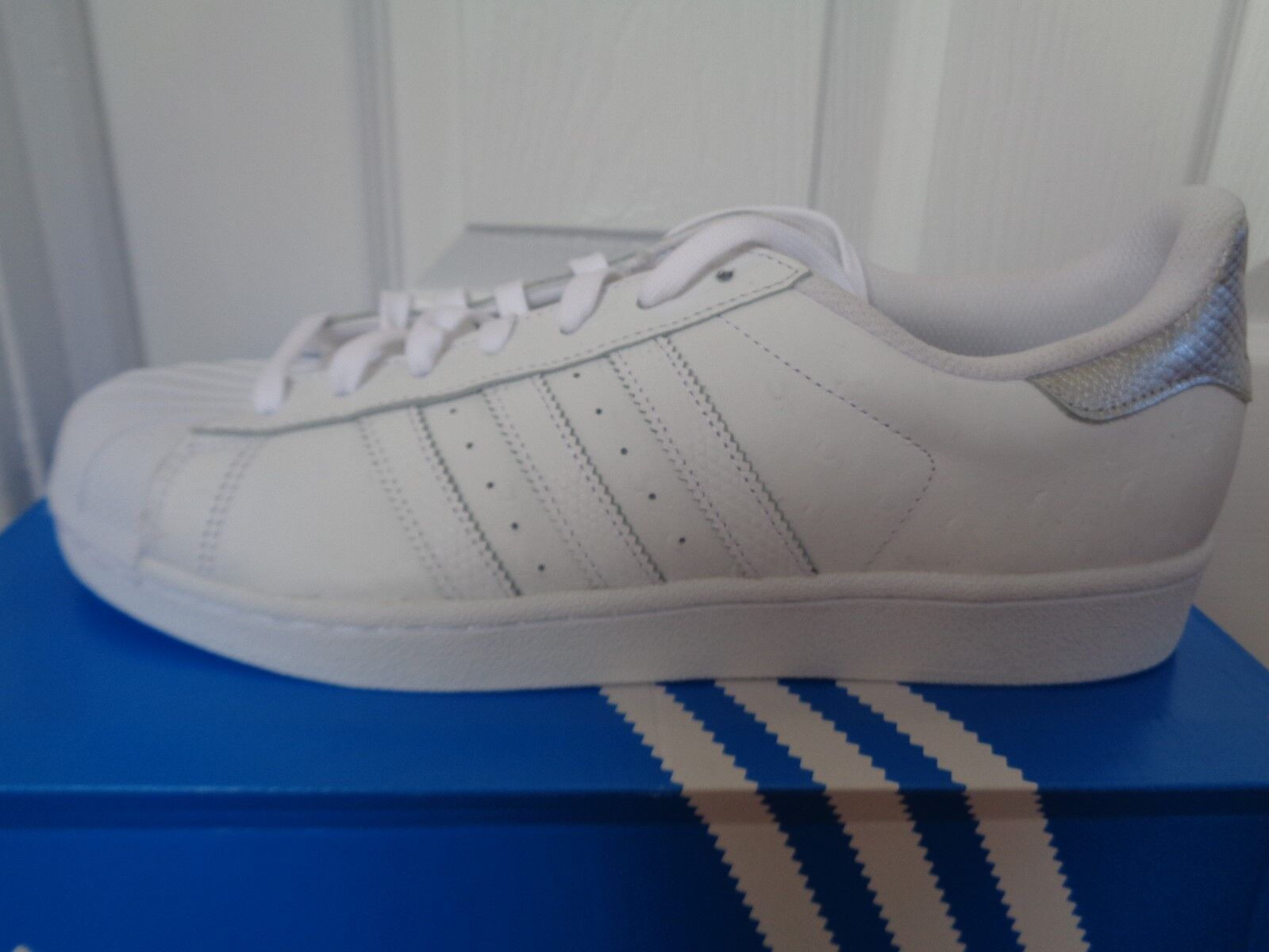 Adidas Turnschuhe Originals Superstar mens trainers Turnschuhe Adidas schuhe S80341 NEW+BOX 4d52eb