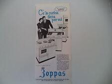 advertising Pubblicità 1962 CUCINA ZOPPAS