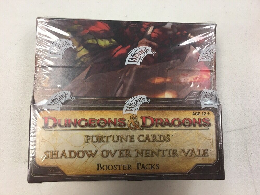 DUNGEONS & DRAGONS FORTUNE CARDS SHADOW OVER BENTIR VALE BOOSTER BOX SEALED