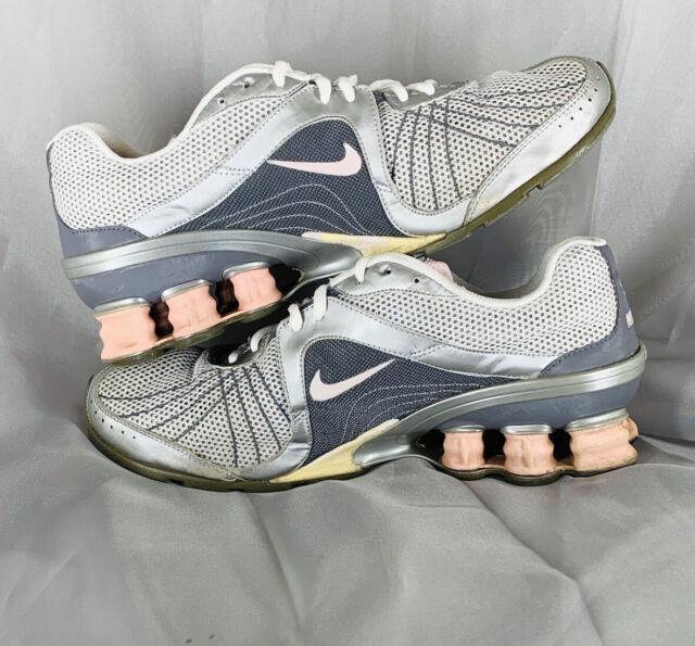 Nike Shox Women's Size 10 317541-081 07'-08' Gray Pink Mesh