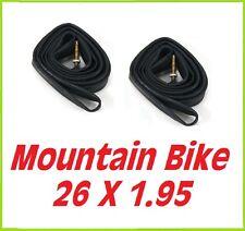 SUPER OFFERTA- 2 x CAMERA D'ARIA Mountain Bike 26 x 1.95 - Valvola Italiana