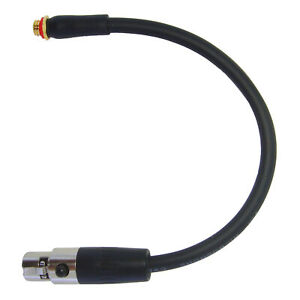 Microphone Adapter for DPA Countryman Microdot to 3 Pin Mini XLR AKG Transmitter