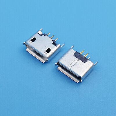10pcs Micro USB 5Pin Type AB Female 180° DIP Socket Soldering Jack Connecto FG