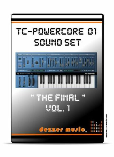 """tc electronic Powercore 01 /""""The final/"""" Vol.1-100 Sound Patches Sound Presets"""