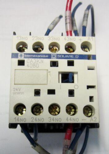 SCHNEIDER ELECTRIC CA3-KN40BD CONTROL RELAY