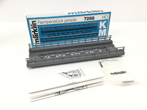 Marklin-7268-HO-Gauge-M-Track-Straight-Ramp-Section-NEW