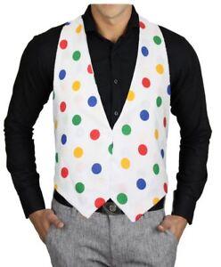 Children-in-Need-Polka-Dot-Backless-Waistcoat-Childs-Age-8-12-Fancy-Dress-CIN