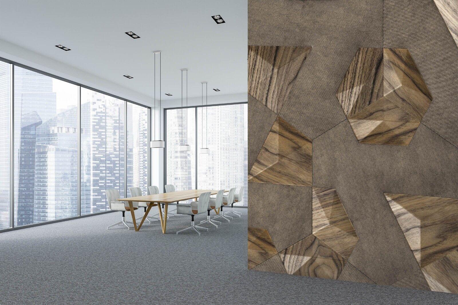 3D Bump Wood Grain 643 Texture Tiles Marble Wall Paper Decal Wallpaper Mural