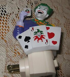 Night Light- The Joker from Batman Night Light- Retired- Hard to Find-Westland