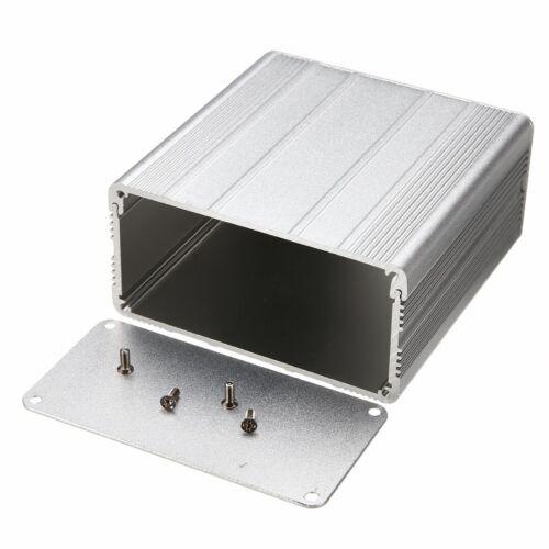 Alu Gehäuse Box Platinen Sicherheit Elektronik Netzteil Montage 100x100x50mm