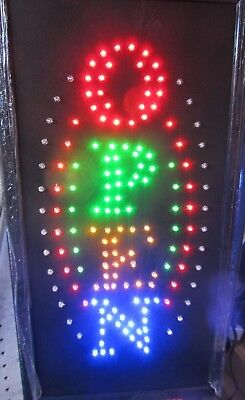 Shawarma Sign Neon Sign LED Open Sign Store Sign Business Sign Window Sign