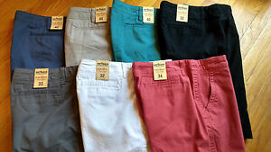 NWT-40-MSRP-Mens-Urban-Pipeline-Flat-Front-Classic-Length-100-Cotton-Shorts