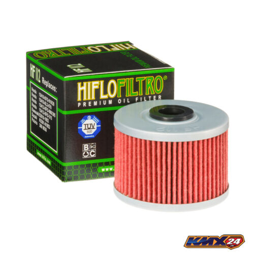 Hiflo Ölfilter HF112 passt an Honda CBR 250 300 CRF 250L+M NX 250 650 GB 500